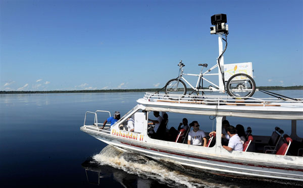 Google Street View at Amazonia