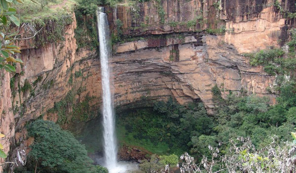 Waterfall Mato Grosso Brazil