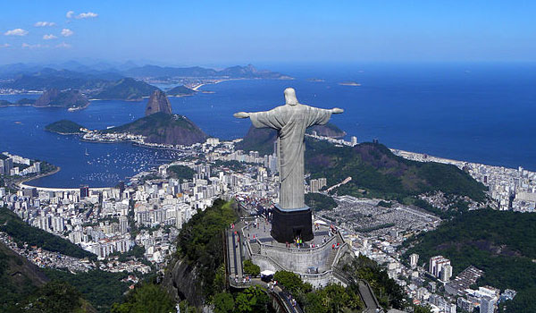 Christ The Redeemer Statue on Corcovado Mountain