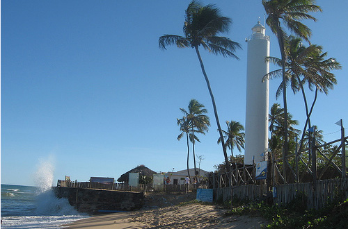 Praia do Forte (Strong Beach) Lighthouse