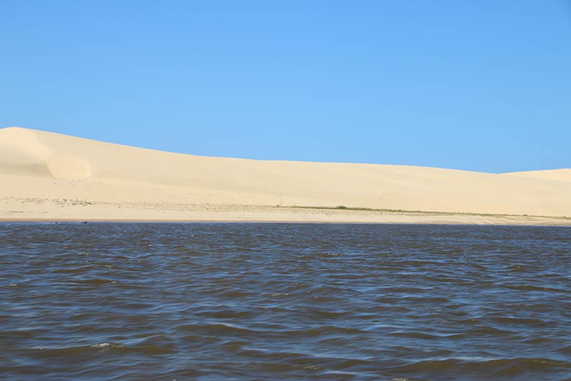 Parnaíba River delta, one of the Northeastern Beaches